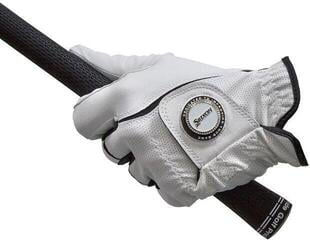 Srixon Ballmarker All Weather Guanti da Golf da Uomo White