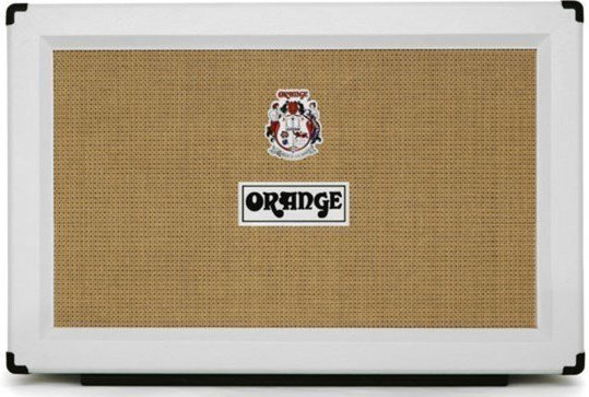 Orange PPC212 2 x 12 Closed Back Cabinet, Limited Edition White