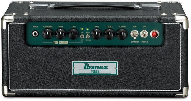Ibanez TSA 15HBK Black Tube Screamer Head
