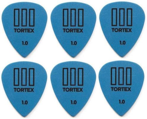 Dunlop 462R 1.00 Tortex TIII 6 Pack