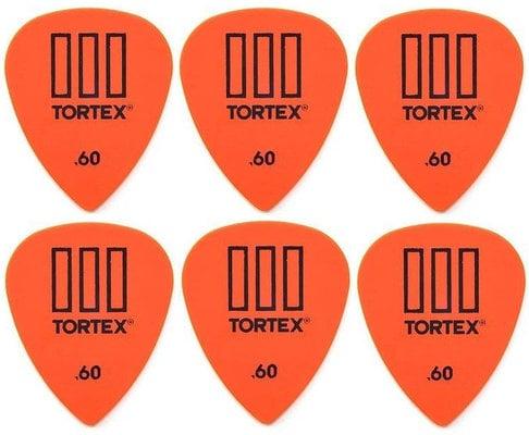 Dunlop 462R 0.60 Tortex TIII 6 Pack