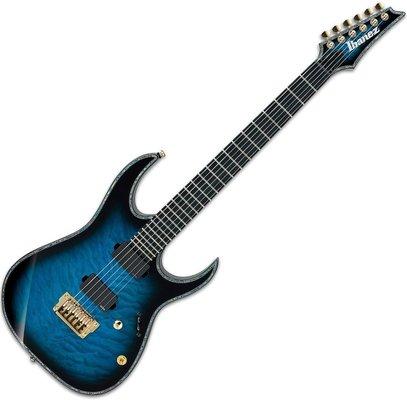 Ibanez RGIX20FEQM Iron Label - Sapphire Blue Sunburst