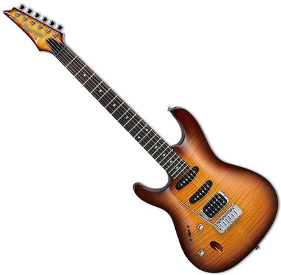 Ibanez SA160FML Brown Burst