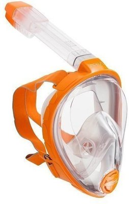 Ocean Reef Aria Full Face Snorkeling Mask Orange S/M