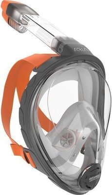 Ocean Reef Aria Full Face Snorkeling Mask Grey M/L