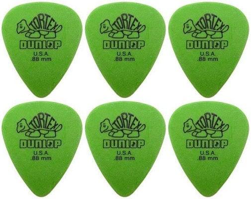 Dunlop 418R 0.88 Tortex Standard 6 Pack