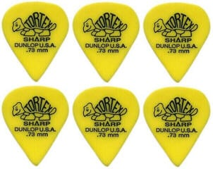 Dunlop 412R 0.73 Tortex Sharp 6 Pack