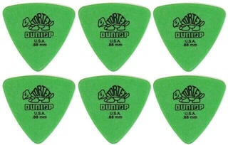 Dunlop 431R 0.88 Tortex Triangle 6 Pack