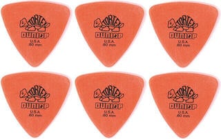 Dunlop 431R 0.60 Tortex Triangle 6 Pack