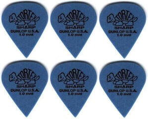 Dunlop 412R 1.00 Tortex Sharp 6 Pack