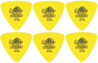 Dunlop 431R 0.73 Tortex Triangle 6 Pack