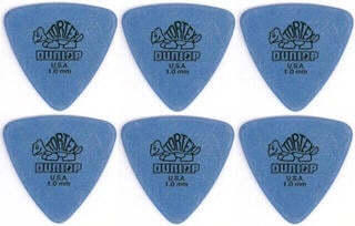Dunlop 431R 1.00 Tortex Triangle 6 Pack