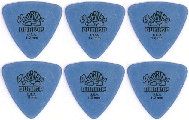 Dunlop 431R 1.00 Tortex Triangle 6 Pack