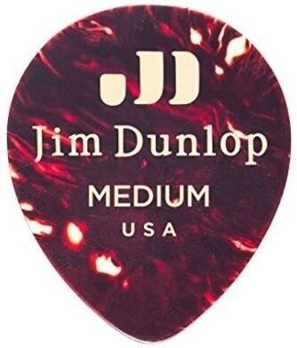 Dunlop 485R-05MD Celluloid Teardrop Shell Medium