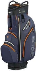 Big Max Aqua V-4 Steel Blue/Black/Orange Cart Bag