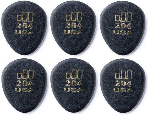 Dunlop 477R 204 Jazz Tone Round Tip 6 Pack