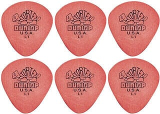Dunlop 472R L 1 Tortex Jazz 6 Pack