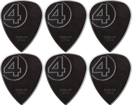 Dunlop JIM ROOT SIGNATURE NYLON PICK 6 Pack