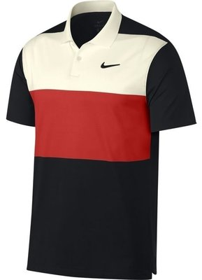 Nike Dri-FIT Vapor Polo Sail/Habanero Red S