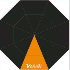 Volvik Umbrella Black/Orange