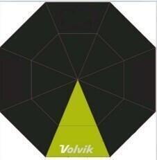 Volvik Umbrella Black/Lime