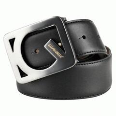 Galvin Green Web Leather Belt Blk