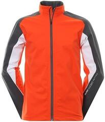 Galvin Green Aston Paclite Gore-Tex Mens Jacket Red/Iron Grey 2XL