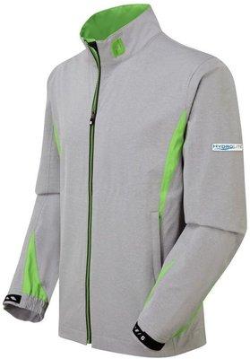 Footjoy HydroLite Waterproof Mens Jacket Grey/Green 2XL