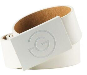 Galvin Green Wells Leather Belt Wht