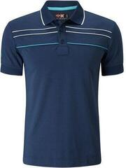Callaway Youth Chest Piped Detská Polo Košeľa Insignia Blue L