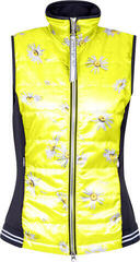 Sportalm Daphin Print Womens Vest Yellow