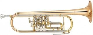 Yamaha YTR 436 G Trumpet with rotary valves