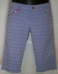 Alberto Mona-K Waterrepellent Womens Shorts Blue/White