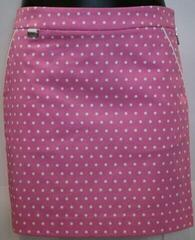 Ralph Lauren Printed Stretch Sateen Womens Skort Pink 6