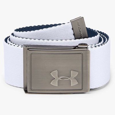Under Armour Boys Webbing 2.0 Belt White