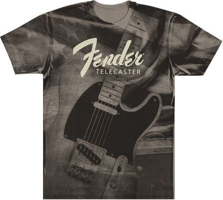 Fender Tele Belt Print T-Shirt XL