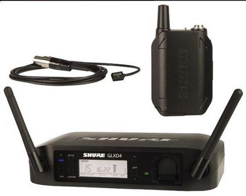 Shure GLXD14E/93 Wireless Lavalier System