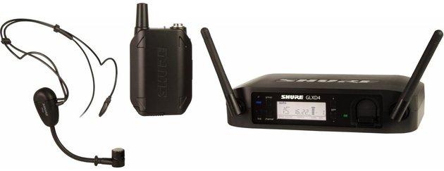 Shure GLXD14E/MX53 Wireless Earset System