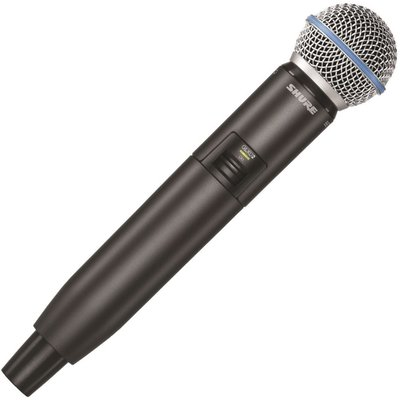 Shure GLXD2/B58 Handheld Wireless Transmitter with SM58