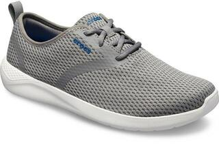 Crocs Men's Lite Ride Mesh Lace Smoke/White