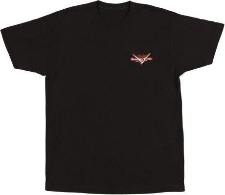 Fender Custom Shop Globe T-Shirt Black M