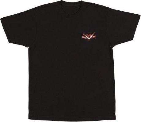 Fender Custom Shop Globe T-Shirt Black XL