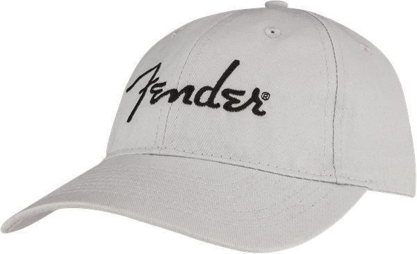 Fender Embroidered Logo Dad Hat Grey