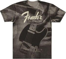Fender Tele Belt Print Dark Grey