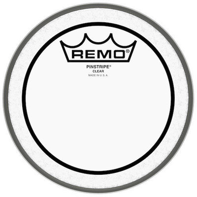 Remo Pinstripe Clear 6''