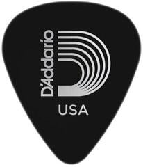D'Addario 1CBK4 Black Celluloid Guitar Pick Medium