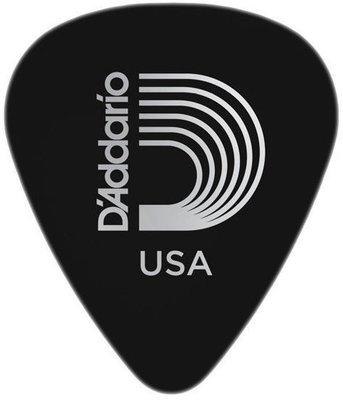 D'Addario 1CBK4 Black Celluloid Guitar Pick Medium