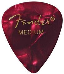 Fender 351 Shape Premium Pick Medium Red Moto