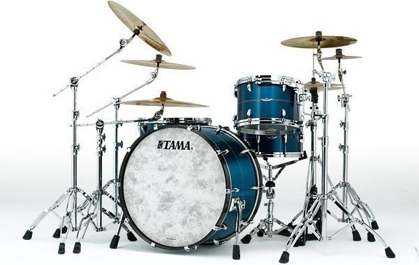 Tama Star Bubinga Shell Set Satin Blue Metallic
