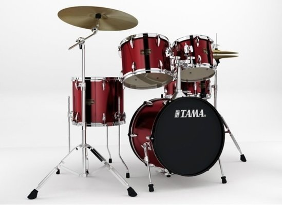 Tama IP58H4 ImperialStar Vintage Red